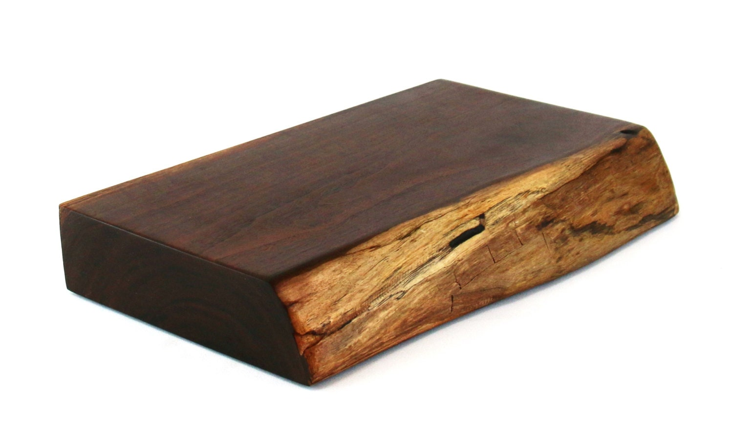 Block Board Solid Wood Board ~ Thick walnut butcher block wood cutting board ready to ship