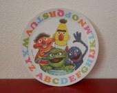 Vintage 1977 Sesame Street Plate ABC Muppets Inc