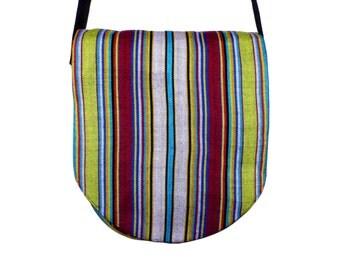 Kente Messenger Bag - Hand Woven in Ghana, West Africa