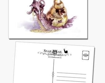 Snail Mail: Undead Zombie Snail