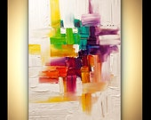 """Modern Art Poster on Photographic Paper - Inside My Mind - 36""""x24"""" - Art by Osnat"""