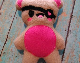 Plush pirate bear/stuffed animal/stuffed bear/plushie
