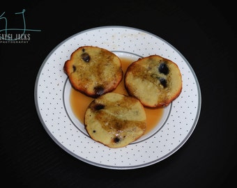 18 Maple Flavored Pancake Cookies with Blueberries, Dark Chocolate Chunks, Coconut, Walnuts (Low Carb, Sugar Free, Gluten Free, Grain Free)