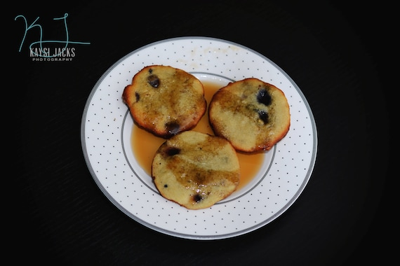 24 Maple Flavored Pancake Cookies with Blueberries, Dark Chocolate Chunks, Coconut, Walnuts (Low Carb, Sugar Free, Gluten Free, Grain Free)
