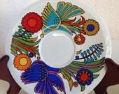 "Vintage Villeroy & Boch Mexican design Acapulco saucer plate 6"""