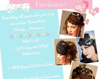 Request a Custom Fascinator!