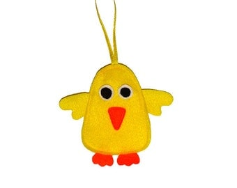 Easter Chick Felt Decoration