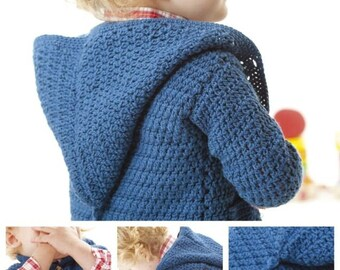 Boy's Hoodie Crochet Pattern