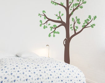 Corner Tree - Vinyl Wall Decal
