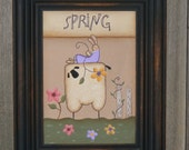 Primitive Spring Decor