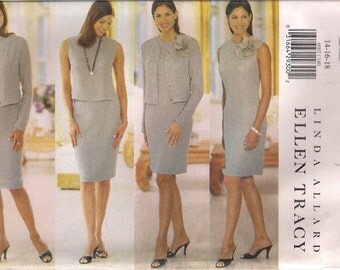 Butterick Sewing Pattern 6002 - Misses' Jacket, Dress, Top, and Skirt (8-12, 14-18, 20-24)