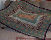 Great Room Granny Square Afghan