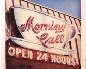 Morning Call Coffee & Beignets Coaster
