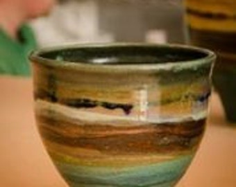 Medium Funnel Landscape Bowl/vases