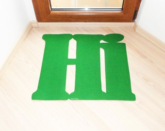 Welcome doormat: Hi. Original doormat. Decor your home