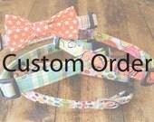 Custom order collars