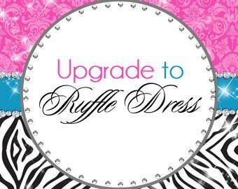 Upgrade to ruffle dress