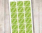 Pay Day Corner Sticker, Green, Set of 36