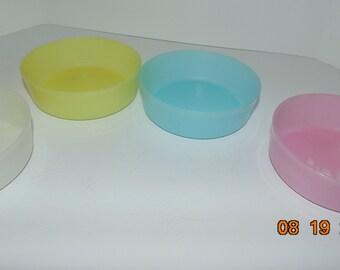 Tupperware Little Wonders 6 oz. Bowls 4 bowls  #1286