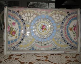 mosaic breadbox