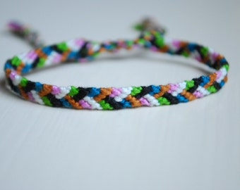Clearance!!! Thin & Fun 6-Strand Friendship Bracelet
