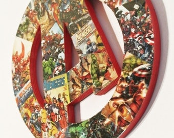 Avengers Wall Plaque (made to order)