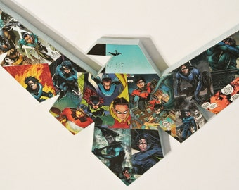 Nightwing Wall Plaque (made to order)