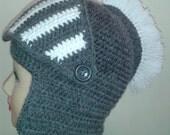 Knight crochet hat,Men's Hat Crocheted Knight Helmet ,Grey Knight Beanie , Slouch Men Hat Winter Snowboard Ski Mask Bicycle