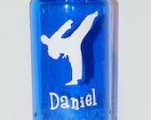 Kids Water Bottle - Karate - Personalized