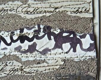 secrets of ink  - little secret on linen