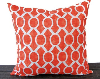 Orange pillow cushion cover orange modern contemporary throw pillows Sydney