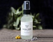 Sensitive Skin Facial Toner Lavender Chamomile Hydrosol Flower Water Facial Tonic Natural Skin Care Essential Oil Face Tonic