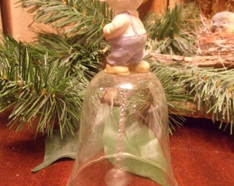 Little Mouse Glass Bell   (T)