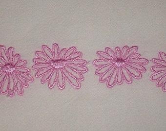 Pyrex Pattern Embroidered Organic Cotton Flour Sack Towel