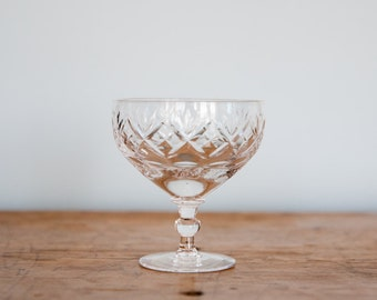 Crystal Champagne Glasses (Set of 2)