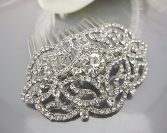 Wedding hair comb wedding headpiece wedding hair accessories wedding hair jewelry wedding hair piece wedding comb bridal hair comb wedding
