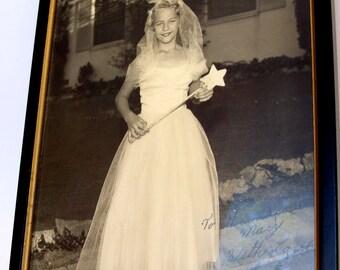 "Autographed Photo ""Susan as Glinda the Good Witch"" Glendora Children's Theatre, Glendora, California"