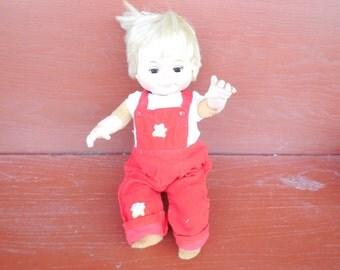 Eegee Camilla espuma cuerpo Posi amigo 1970, chica de carácter, espuma muñeca, muñeca del Vintage, de la muñeca:) S