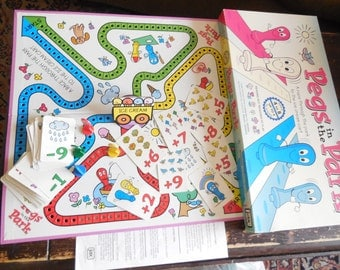 Pegs In The Park Game 1993  / Gift Idea / :)
