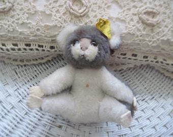 Steiff Koala Bear Made in Germany tag is loose, Steiff Stuffed Animals, Steiff Toys, Vintage Stuffed Toys, Bear, Vintage Toys, Toys,   :)
