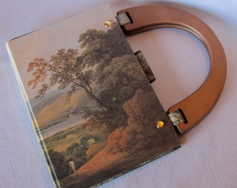 Landscape Altered Book Purse Coleridge among the Lakes & Mountains