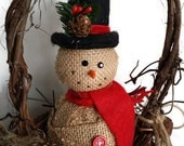 Reserved for Randy  Six Snowmen Ornaments