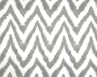 Grey Table Runner- Grey  Chevron Zigzag Table Runner- Grey Table Cloth.