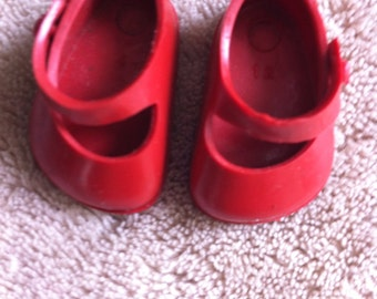 Ginny red doll shoes Summer Sale!