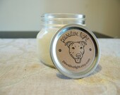 Pomegranate Cider Soy Wax Candle - 16 oz Handmade Scented Candle