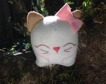 White Kawaii Kitten
