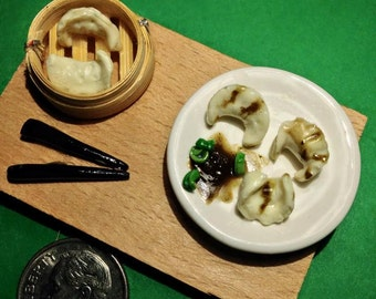 miniature pot stickers