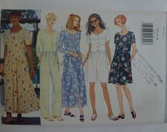 Butterick Misses' / Misses' Petite Dress and Jumpsuit  Sizes 6-14