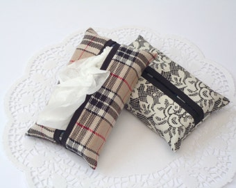 Fabric Pocket Tissue Holder