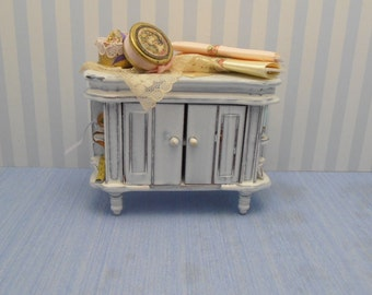 Gaël Miniature Shabby Chic Furniture   Shabby Chic Furniture Sewing For  French Dollhouse In 1:
